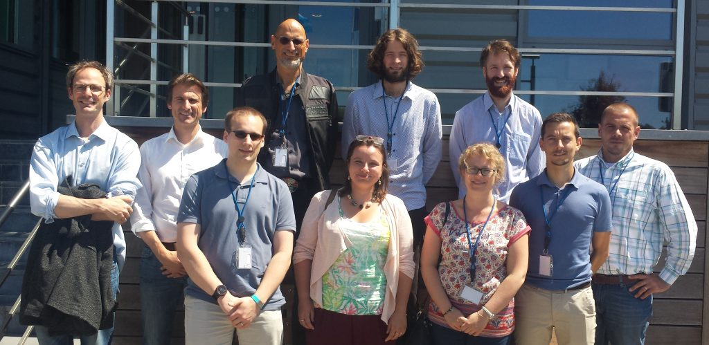 Team of HELHa Datacenter Engineering Program